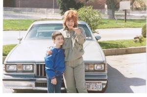 Mom & Josh-1990